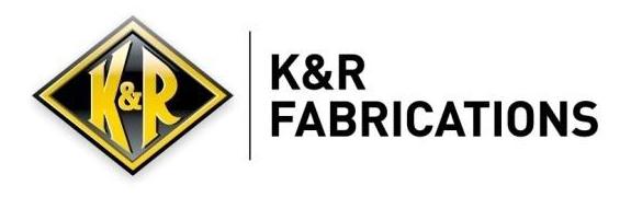 Company logo for K&R Fabrications